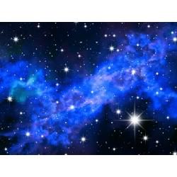 Décoration plafond paysage univers - Les étoiles scintillantes