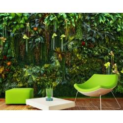Mur végétal - Les plantes grimpantes de la jungle