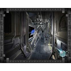 """Décor plafond parc thème """"Univer"""" - La station spatiale"""