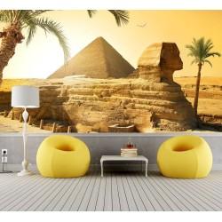 Papier peint photo paysage désert - La pyramide