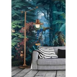 Papier peint tropical format vertical (portrait) - Dans la forêt de la jungle