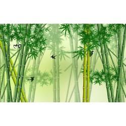 Les oiseaux et les bambous 2