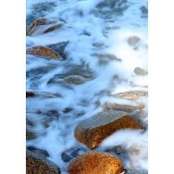 Revêtement de sol paysage - Les pierres dans la rivière