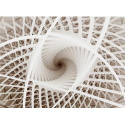 Décor plafond trompe l'oeil 3D - Trou dans le toit