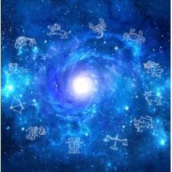 Décor plafond ciel dans la nuit - Les 12 signes astrologiques