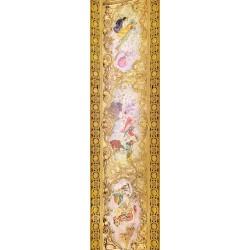 """Décor plafond style ancien - Plafond tendu lumineux ou papier peint fresque, thème """"musique"""""""