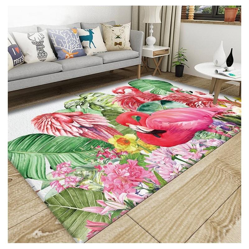 Decoration D Interieur Style Tropical Tapis Sol Moderne En Pure