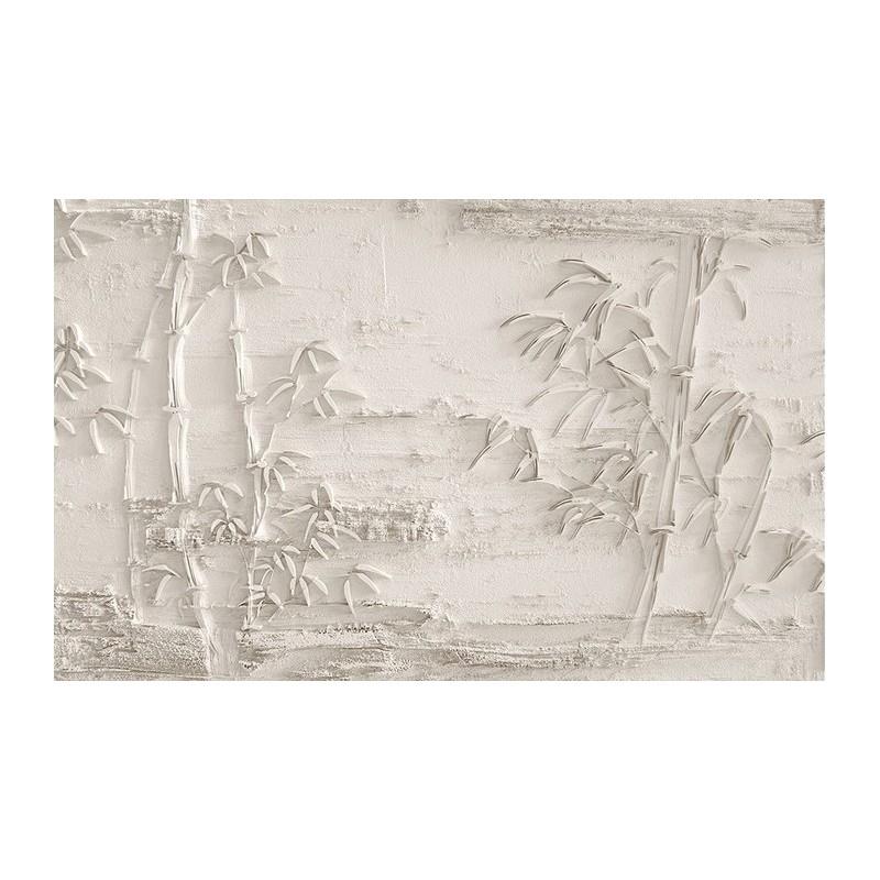 d coration trompe l 39 il mur 3d papier peint personnalis bambou bas relief sculpt tapisserie. Black Bedroom Furniture Sets. Home Design Ideas
