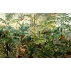 Tapisserie tropicale issue d'un tableau d'artiste - Les plantes tropicales à l'intérieur