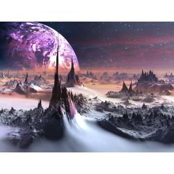 Papier peint paysage fantaisie
