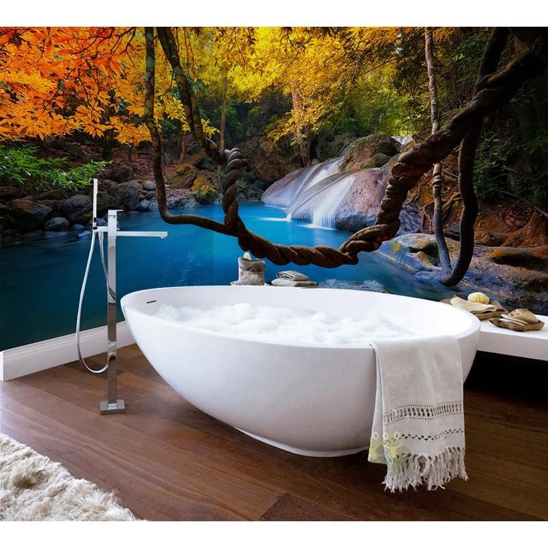 panneau etanche imprim paysage for t salle de bain. Black Bedroom Furniture Sets. Home Design Ideas