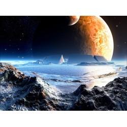 Papier peint fantaisie-Dans une autre planète