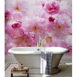 """Salle de bains """"La vie en rose"""" - Les fleurs de cerisier"""