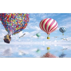 Papier peint paysage chambre d'enfant - Voyage exceptionnel
