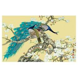 Les paons et les magnolias