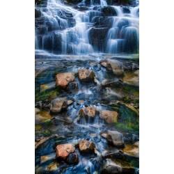 Revêtement sol paysage zen - La cascade 2