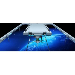 Revêtement sol trompel'oeil effet 3D - Station d'espace