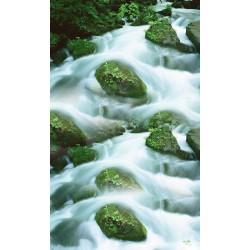 Revêtement sol paysage zen - La cascade 3