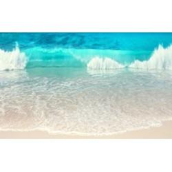 Revêtement de sol paysage - Les vagues de l'océan