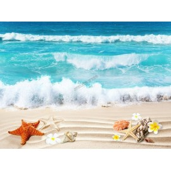 Revêtement sol romantique - La plage tropicale