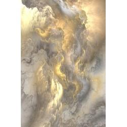Décoration plafond - Les nuages gris dans le ciel