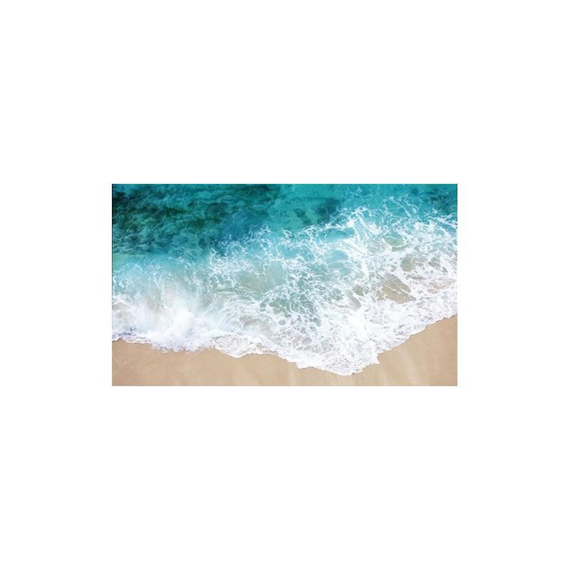 Rev tement de sol vinyle pvc personnalis paysage de la mer - Revetement de sol autocollant ...