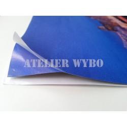 Revêtement de sol vinyle auto-adhésif repositionnable surface en PVC mat en lés