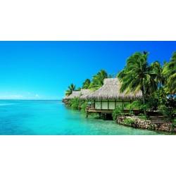 Paysage aux Maldives