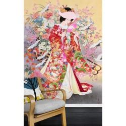 Papier peint japonais - Jeune mariée japonaise