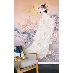 Papier peint japonais - Jeune mariée japonaise 2