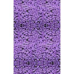 Revêtement de sol fleur - Tapis de fleur violette