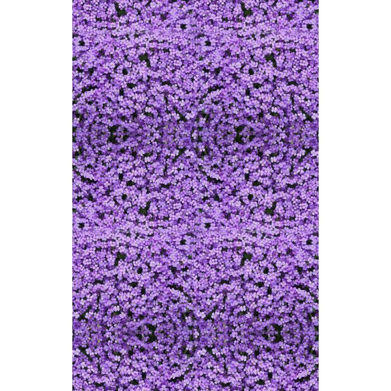 revtement de sol fleur tapis de fleur violette - Tapis Fleur