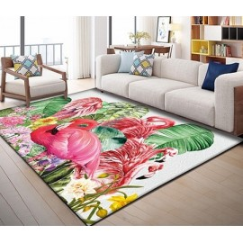 Tapis Motif Tropical