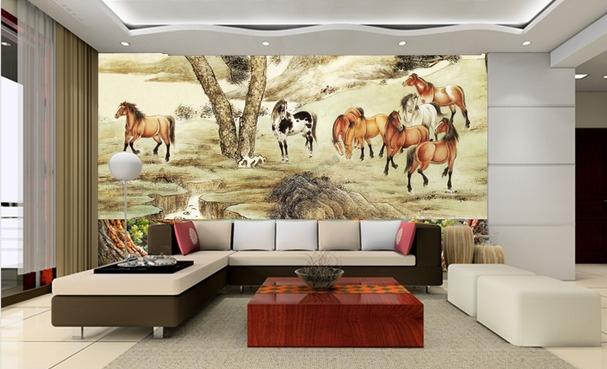 papier peint asiatique,papier peint chinois,papier peint japonais,papier peint cheval,papier peint paysage,tapisserie numérique cheval,poster géant cheval,papier peint salle de séjour,papier peint chambre à coucher,papier peint salon,papier peint hôtel