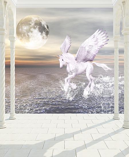 papier peint intissé,tapisserie cheval ailé,cheval ailé,cheval blanc,papier peint,papier peint personnalisé,papier peint cheval ailé,tête de lit cheval ailé,tapisserie chambre fille,poster cheval ailé,poster licorne,poster cheval blanc,sticker mural cheval ailé