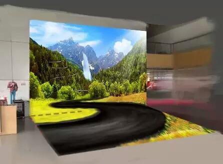 architecte d'intérieur, décoration d'intérieur, décoration murale, décoration sol, décoration exposition centre commercial, papier peint personnalisé, revêtement sol sur mesure, simulation décor