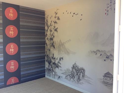 papier peint chinois