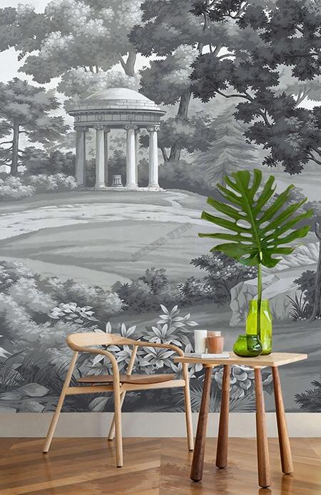 tableau d'artiste paysage gris,paysage grisaille,papier peint design,papier peint paysage gris,tapiseerie paysage gris,poster salon paysage gris,sticker salle de bain paysage,tête de lit paysage grisaille,papier peint intissé,papier peint personnalisé,papier peint vinyle,tapisserie soie un seul morceau,papier peint soie lé unique