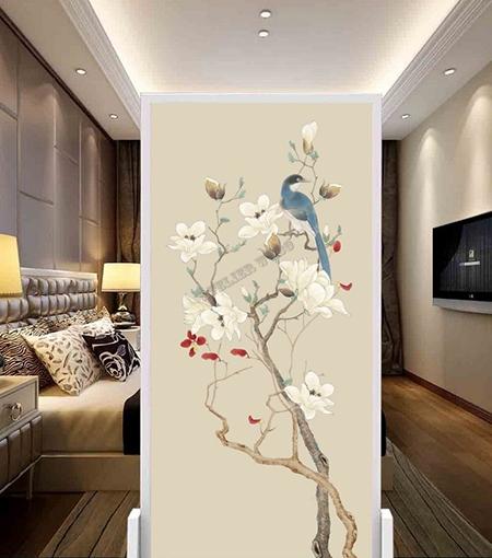 magnolia,oiseau,fleurs et oiseaux,peinture asiatique fleurs et oiseaux,papier peint chinois fleurs et oiseaux,tapisserie asiatique fleurs et oiseaux,papier peint japonais fleurs et oiseaux,poster géant japonais,sticker mural fleurs et oiseaux,papier peint magnolia,tapisserie chambre magnolia,poster mural magnolia,décor japonais magnolia,décor chinois magnolia