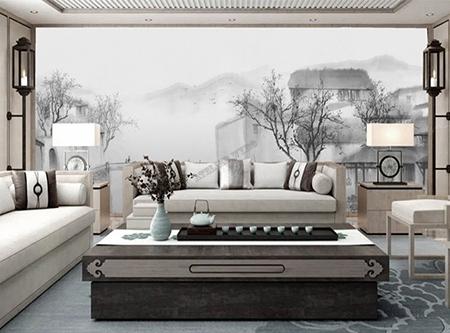Peinture à L Encre De Chine Paysage Een En Noir Et Blanc Atelier Wybo