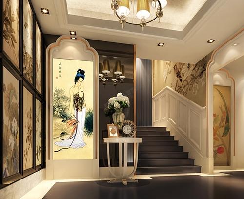 portrait, papier peint chinois, papier peint japonais, papier peint asiatique, papier peint séjour, papier peint salle de bain, tapisserie style chinois, tapisserie style japonais, tapisserie asiatique,papier peint panoramique