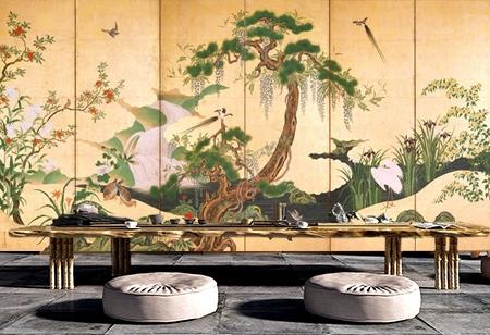 Achat papier peint intissé japonais sur mesure,tapisserie japonaise soie imprimée un seul tenant,boutique papier peint japonais sur mesure,papier peint ukiyo-e japonais paysage zen,papier peint intissé japonais fleurs et oiseaux,papier peint tissu imprimé estampe japonaise,papier peint vintage japonais Ukiyo-e,peinture japonaise paysage de printemps fleur et oiseau,tapisserie zen soie imprimée paysage japonais,estampe japonaise fleur et oiseaux en printemps,panneau japonais sépia glycine lys canard oiseau,tête de lit japonais aigrette pin glycine,paravent japonais lys glycine iris aigrette canard,poster géant japonais chute d'eau glycine oiseau
