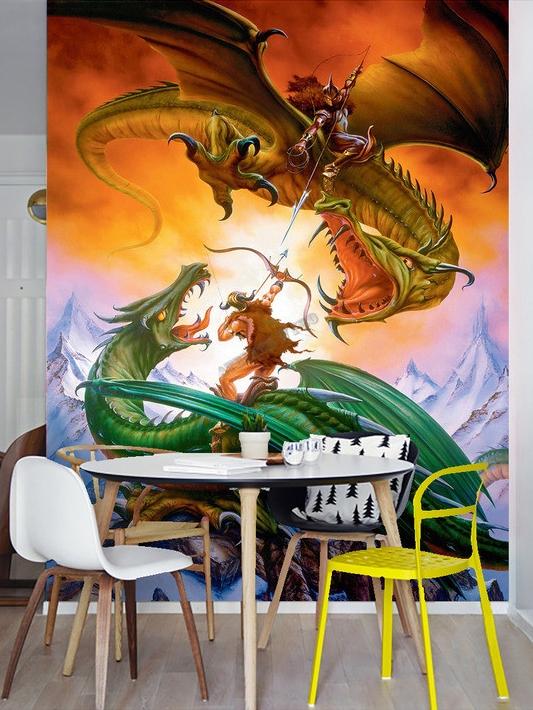 dragon,papier peint fantaisie,tapisserie fantaisie,poster fantaisie,papier peint dragon,tapisserie dragon,poster dragon,papier peint paysage fantaisie,tapisserie paysage fantaisie,poster paysage fantaisie,papier peint photo,poster géant chambre garçon,chambre garçon,décor chambre garçon,décoration murale chambre garçon