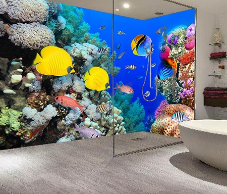 tarif panneau tanche imprim mur baignoire douche papier peint sol 3d. Black Bedroom Furniture Sets. Home Design Ideas