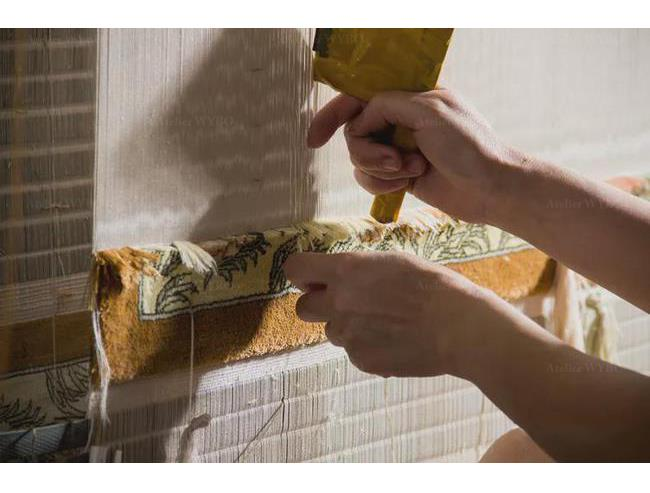 acheter tapis en soie naturelle personnalisé noué main pour salon séjour salle à manger bureau à domicile chambre descente de lit