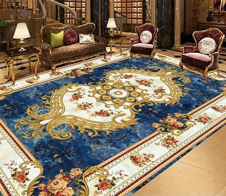 tapis bleu,tapis sol traditionnel,tapis laine oriental,tapis abstrait,tapis laine fleur,tapis laine moderne,tapis laine traditionnel,tapis sol,tapis sol en laine,tapis laine,tapis pure laine fait main,tapis laine artisanal,tapis laine sur mesure